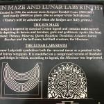 Longleat labyrinth plaque_1