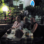 Taverne Dionnysus with Ann-Sophie & Tord