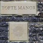Tofte Manor plaque_1