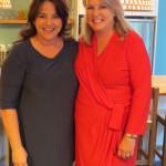 Hostess Wanda Vlok-Keuler, Marketing Manager La Motte and Leopard's Leap